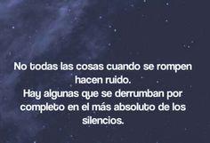 silencios destructivos❌