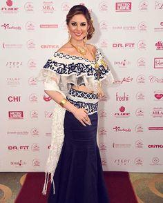 En la Gala Viva Panamá @senoritapanamaoficial muchas felicidades y gracias…