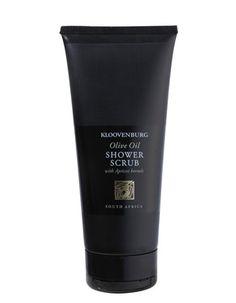 Kloovenburg Olive Oil Shower Scrub. R68 Per Bottle. Shipping worldwide
