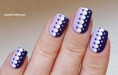 #Purple #Dotticure #Nailart
