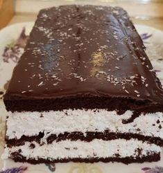 Nagyon egyszerű és finom: Kókuszos Kinder szelet! - Ketkes.com Cooking Together, Kaja, No Bake Cake, Sweet Recipes, Breakfast Recipes, Goodies, Yummy Food, Sweets, Snacks