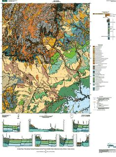 Geologic Maps Of The United States Alabama United States And - Map of the 50 united states