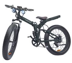 Folding frame fat tire ebike with 85 mile range, 750w motor, 48v battery, full suspension & more.   Lose the 750 hub/48v for a BSSHD and 52v and this is brilliant