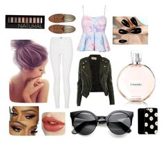 """""""isabel grace."""" by rachelsianappleton on Polyvore featuring CO, Quiz, Chanel and Forever 21"""