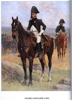 Army of the Grand Duchy or Warsaw (Poland)  Colonel d'artillerie à pied