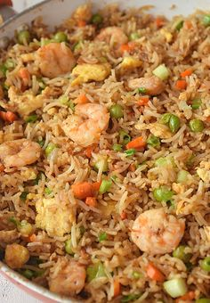 Best Fried Rice recipe you can try and easy to put together,under 30 mins you will get Better Than Takeout ,Restaurant-Style Shrimp Fried Rice savorybitesrecipes shrimpfriedrecie bestfriedrice chinesetakeout easyrecipe 525091637805192340 Chinese Shrimp Fried Rice, Fried Rice Recipe Chinese, Best Fried Rice Recipe, Seafood Fried Rice, Shrimp And Rice Recipes, Fried Rice With Egg, Shrimp Recipes For Dinner, Shrimp Dishes, Seafood Recipes