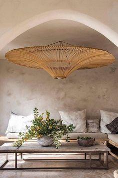 Kelly Behun, Interior Design Trends, Beach Interior Design, Rattan Pendant Light, Pendant Lights, Pendant Lamp, Style Deco, Inspired Homes, Nantucket