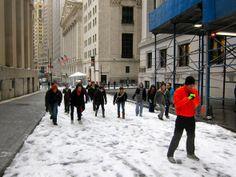 Freeze Tag on Wall Street