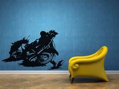 moto cross wall decals