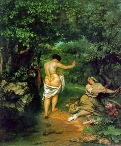 The Bathers Gustave Courbet
