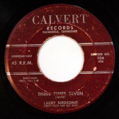 HEAR Larry Birdsong 45 Three Times Seven/Tell Me The Truth CALVERT 104 R&B RARE #ClassicRB