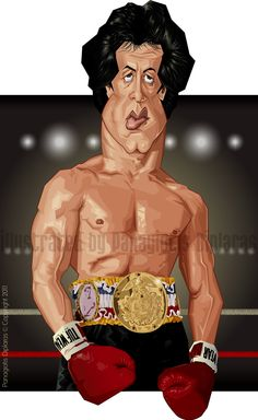 Sylvester Stallone by diplines.deviantart.com