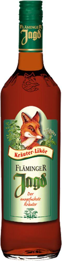 Fläminger Jagd er En sand klassiker, som bliver fremstillet af 38 forskellige urter.