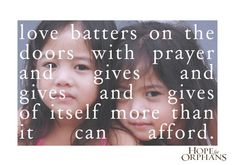 #adoption #orphans
