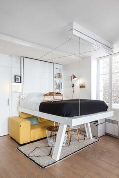 Bed Up vision : lit escamotable #lit #bed #petitsespaces #nouveauté #meuble…