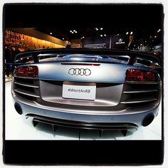 #WantAnR8 Love Audi