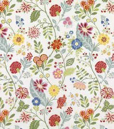 Scandinavian colorful print