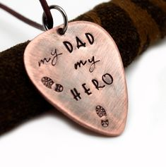 Personalized Necklace for Men Mixed Metal by LoveItPersonalized, $39.00