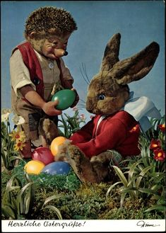 Easter is about helping friends!