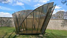 Pavilion by Thomas Heatherwick, Cass Sculpture Park, Goodwood, West Sussex