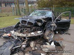 BMW 3-8 Series 5-Series crashed in Belgium