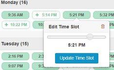 Pinterest With Tailwind's Smart Schedule Schedule, Timeline