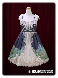 Baby, the stars shine bright Fairy Topialium ~ Promise in the Forest of Trifolium~ Repens jumper skirt