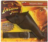 Indiana Jones Belt, Gun and Holster Accessory Set - Indiana Jones Belt, Gun and Holster Accessory Set    Your child will feel like an adventure everyday of the yearSet includes belt, gun and holsterOne size fits mostAccessories make the costumeThis i