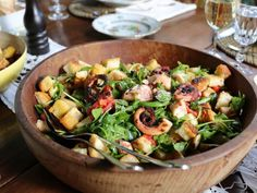 Get Octopus Panzanella Recipe from Food Network