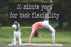 20 Minute Yoga for Back Flexibility