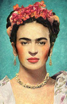 Buy Frida Kahlo shower This shower curtain is Made To Order, one by one printed so we can control the quality. We use newest DTG Technology to print on to Frida Kahlo shower Modern Art Artists, Famous Modern Art, Fridah Kahlo, Frida Kahlo Portraits, Frida Kahlo Artwork, Kahlo Paintings, Frida And Diego, Frida Art, Mexican Artists