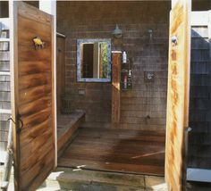 Outdoor Shower  On the deck