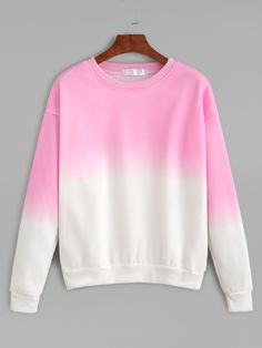 Ombre Drop Shoulder Sweatshirt — 0.00 € -------------------------color: Ombre size: L,M,XL,XXL