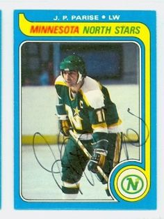 J.P. Parise AUTO 1979-80 Topps North Stars by Regular Topps Issue. $5.00. This card was signed by J.P. Parise and authenticated by JSA - a leading 3rd party authenticator