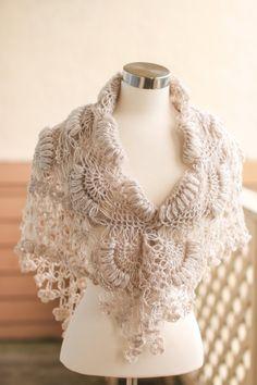 Bridal Shawl Shrug // Bridal Bolero // Shawl // Winter Wedding // Rustic Wedding //Bridal accessories Bolero // Crochet Shawl /Wedding shawl