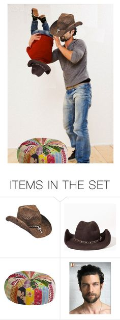 """""""The Superman Flying to Which Richie Referred Was Em's Least Favorite Fred & Richie Game…Fred Took Richie Around the Waist & Twirled Him in Circles in the Air…Em Insisted He at Least Put the Ottoman Down First"""" by maggie-johnston ❤ liked on Polyvore featuring art"""