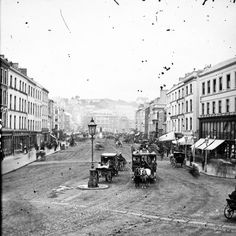 vintage everyday: Amazing Vintage Photos of Street Life of Ireland from the Century Old Pictures, Old Photos, Vintage Photographs, Vintage Photos, Cork City Ireland, Kingdom Of Great Britain, Horse Drawn, 19th Century, Street View