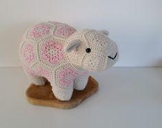 African flower sheep, schaap
