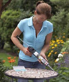 mosaiktisch selber machen tutorial 39 s pinterest mosaic diy and table. Black Bedroom Furniture Sets. Home Design Ideas