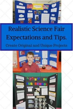 Learn realistic expectations for K-5th Grade Science Fair Projects. Get tips and ideas too. What makes a good project? How do I know if it is age appropriate? Tips will guide you to making the science fair positive for parents and students. Winning Science Fair Projects, Science Fair Board, Science Fair Projects Boards, School Science Projects, Science Experiments Kids, Science For Kids, Science Activities, Science Guy, Forensic Science