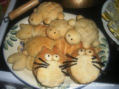 Homemade Animal shape bread