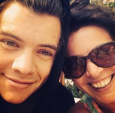 Harry and Anne! He's such a momma's boy
