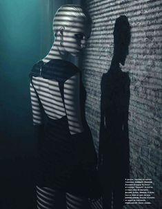Anmari Botha's Secret Life by Wing Shya for Numéro #139 as 'DarkShadows' - 3 Sensual Fashion Editorials | Art Exhibits - Anne of Carversville Women's News