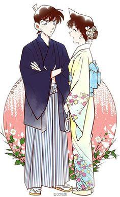 Ran & Shinichi.