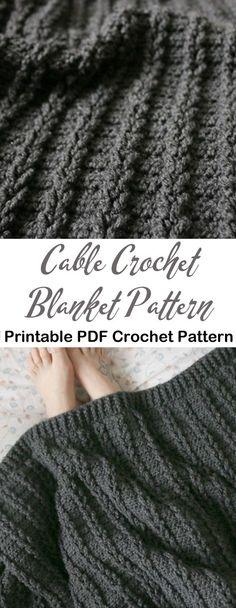 Pin by Elaine Peck on crochet projects Easy Crochet Blanket, Crochet Ripple, Afghan Crochet Patterns, Knit Or Crochet, Knitted Blankets, Crochet Crafts, Crochet Stitches, Crochet Projects, Ripple Afghan