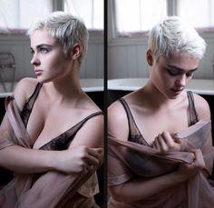 Love this model's hair
