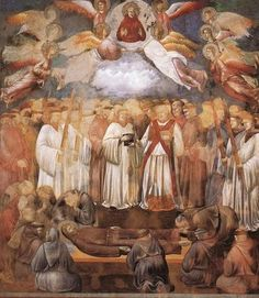 20. Death and Ascension of St Francis.