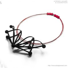 """""""Future 02"""" Jewellery Collection by Superlora, Ariadne Kapelioti has been acknowledged with the prestigious Silver A' Design Award at Jewellery, Eyewear and Watch Design Competition Category. #3Dprintedjewellery"""
