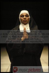 MADAME LIDOINE, THE MOTHER SUPERIOR, IS POULENC'S DIALOGUES OF THE CARMELITES.