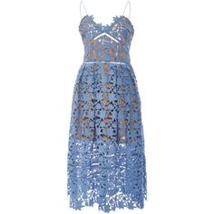 Self Portrait Azalea Lace Sweetheart Dress ($480) ❤ liked on Polyvore featuring dresses, ruched cocktail dress, sleeveless lace dress, blue cocktail dress, lace cut out dress and lace dress